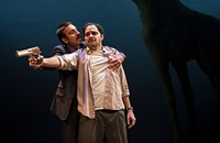 In Lookingglass Theatre's <i>Bengal Tiger at the Baghdad Zoo,</i> the big cat sleeps tonight