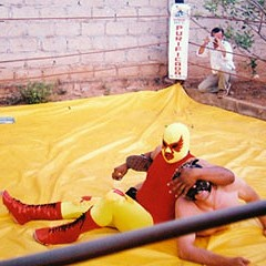 In the ring with Charles Fairbanks, video auteur (and wrestler)