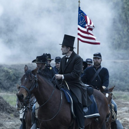 Is that Abraham Lincoln? Why no, it's Daniel Day-Lewis playing Abraham Lincoln.