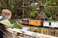 Heaven in Glencoe: the model railroads at the Botanic Garden