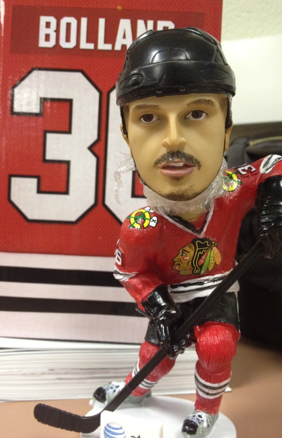 It was Dave Bolland bobblehead night for a game of important bounces.