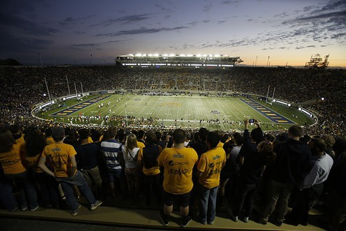 Its better that you didnt have to witness the fanatical behavior at the Cal-Northwestern game on Saturday.