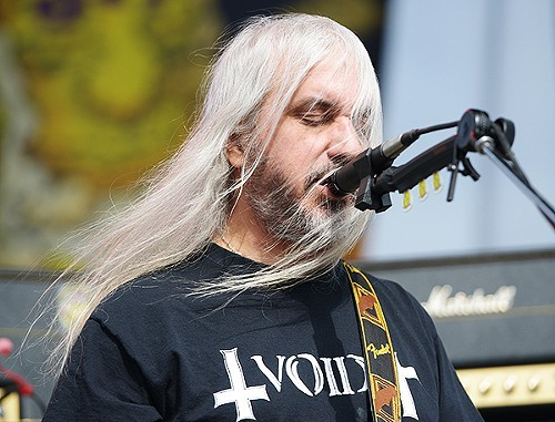 J. Mascis of Dinosaur Jr, channeling Gandalf the White