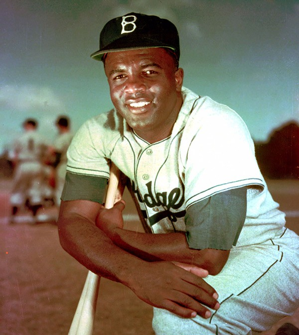Jackie Robinson, who broke baseball's color barrier in 1947, shown in 1952. - AP PHOTO/FILE