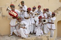 "12 O'Clock Track: ""Piya Tu Ab To Aaja,"" wild Indian brass-band music from Jaipur Kawa"
