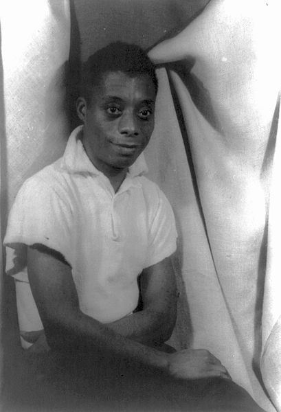 James Baldwin in 1955