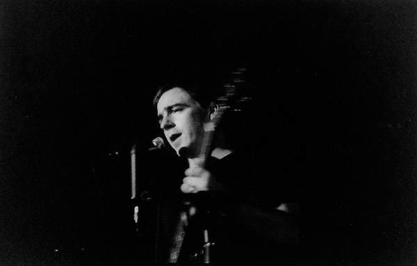 Jason Molina performs at the John Waldron Arts Center in Bloomington, Indiana, circa 2000.