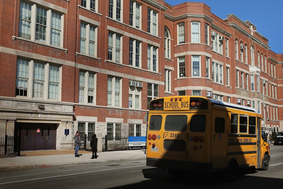 Jean De Lafayette Elementary, one of 50 schools slated to be closed by the city
