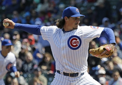 Jeff Samardzija was a tough-luck loser again today.