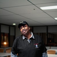 "The People Issue, 2011 Jerry Neal has worked for 22 years at the Cook County Criminal Courthouse at 26th and California. ""One time Oprah was on the jury. She didn't particularly like cafeteria food."" Saverio Truglia"