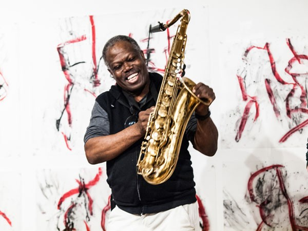Joe McPhee plays at Constellation on Sun 11/10. - PETER GANNUSHKIN