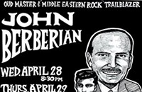 John Berberian and His Oud at the Old Town School