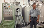 Inside the country's only Korean rice wine brewery