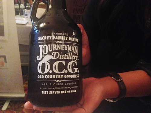 Journeyman Distillerys O.C.G. apple cider liqueur