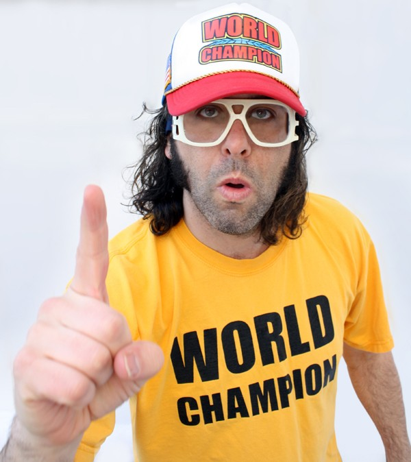 Comedian Judah Friedlander Defends His Title Comedy