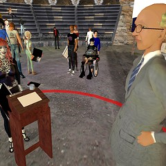 Judge Posner in Second Life