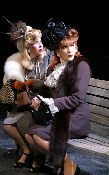 Julie Halston and Charles Busch