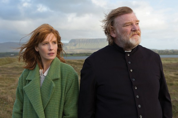 Kelly Reilly and Brendan Gleeson