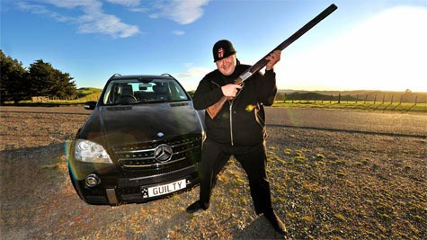 Kim Dotcom in action
