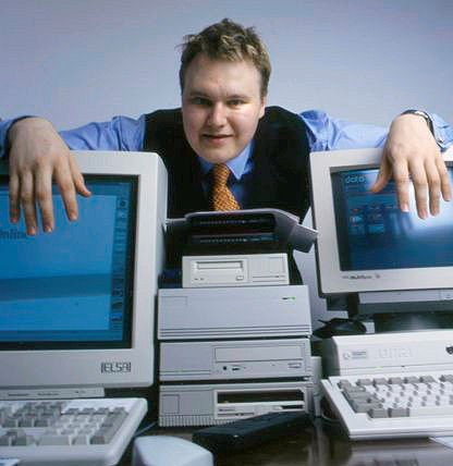 Kim Dotcom in happier times.
