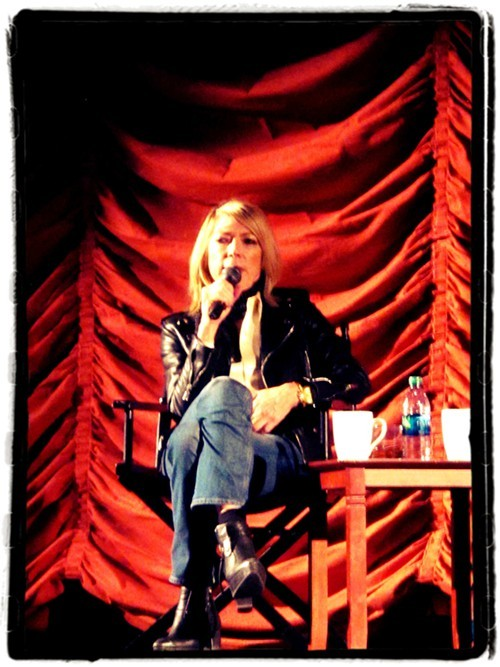 Kim Gordon at the 25th Chicago Humanities Festival