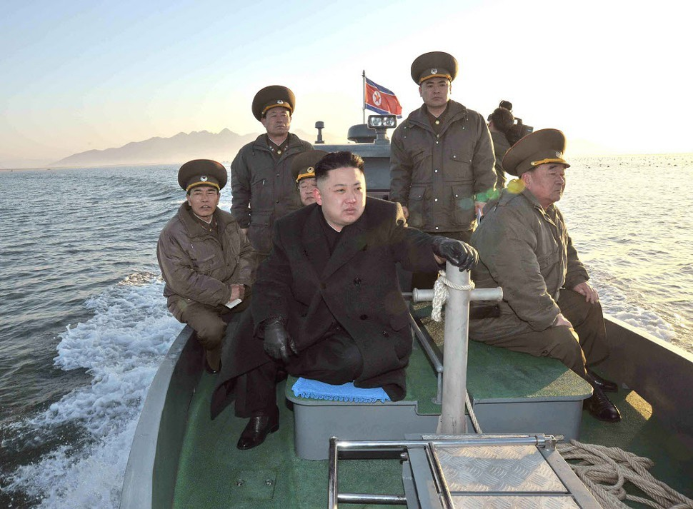 Kim Jong-un: Might have a red equal sign on his Facebook page?