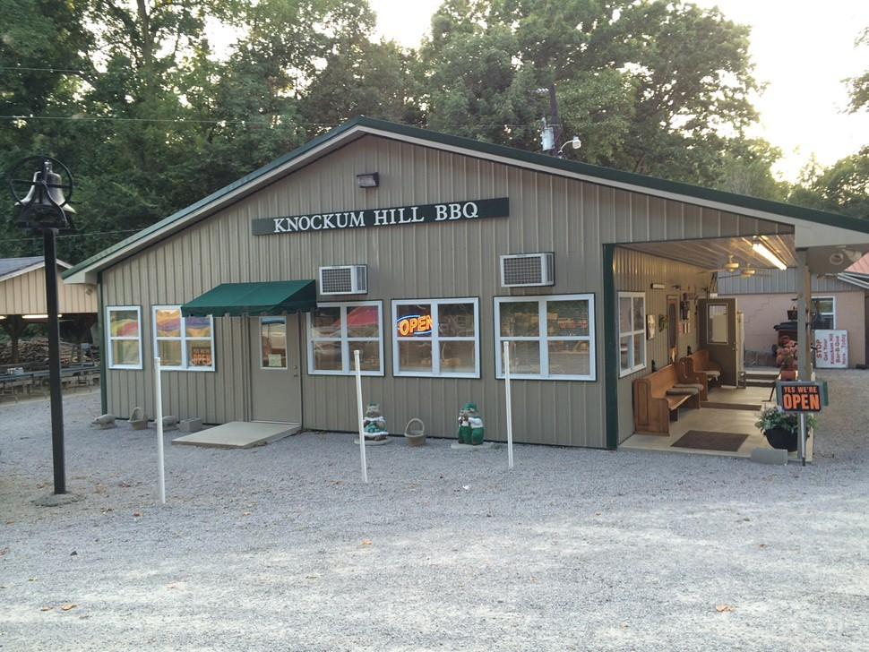 Knockum Hill, Bar-B-Q, Herndon KY