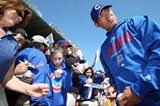 Kosuke Fukudome, the right-field bleachers - JONATHAN DANIEL/GETTY IMAGES