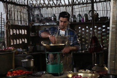 Kunal Kapoor, playing Omi Khurana, works on the title recipe.
