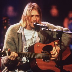 Kurt Cobain may have been a great singer, but he was bad at keeping his place clean.