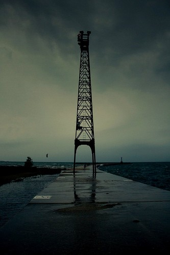 Lake Michigan tower, Andy Siharath
