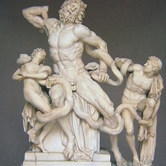 Laocoon struggles with received wisdom