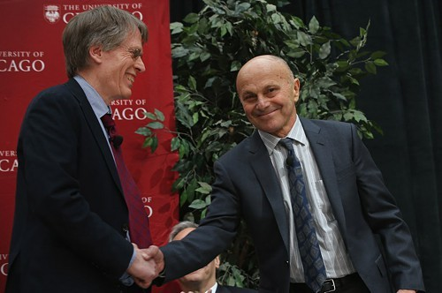 Lars Peter Hansen and Eugene Fama