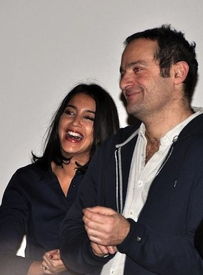 Leila Bekhti and director Cedric Kahn