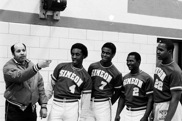 "Leroy Franklin's approach is described as ""old-school"" now, but he fit right in with the legendary Simeon disciplinarians of the 1980s. - CHICAGO SUN-TIMES"