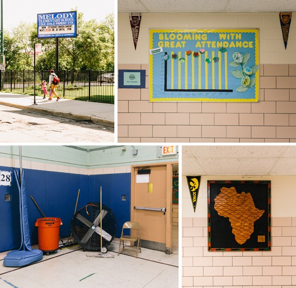 Like many Chicago Public Schools, Melody elementary, in West Garfield Park, is racially segregated and struggling with problems stemming from the poverty of its students. - RYAN LOWRY