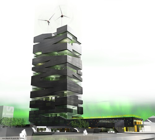 Living Tower by SOA Architects