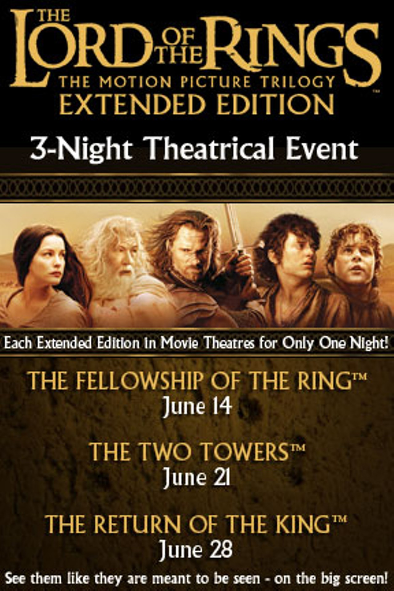 Lord of the Rings: The Fellowship of the Ring Extended