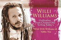 Lost roots reggae from singer Willi Williams