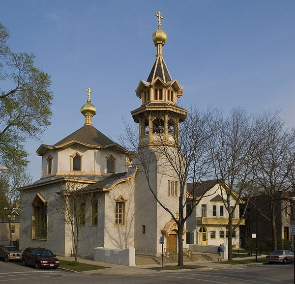 Louis Sullivan's Holy Trinity Orthodox Cathedral, 1121 N. Leavitt