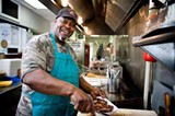 Mack Sevier of Uncle John's Barbecue - ROB WARNER