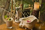 Mai tai, Samoan fog cutter, and Rum Giggle at Trader Vic's - ERIC FUTRAN
