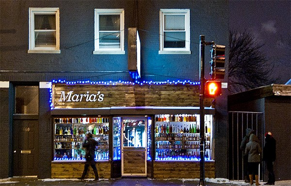 Maria's in Bridgeport. In 2023, will you be bragging you hung out there before it was cool? - ERIC ALLIX ROGERS