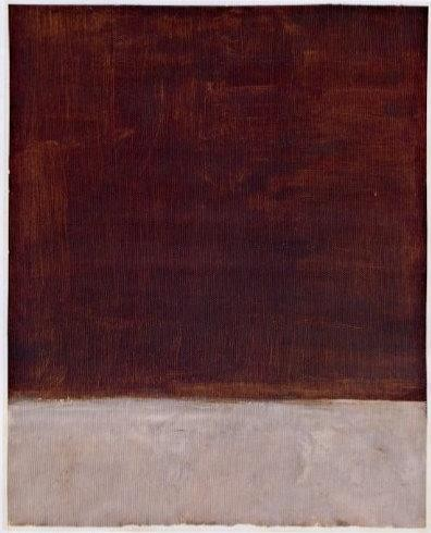 Mark Rothko, Untitled (Brown and Gray)