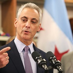 Mayor Emanuel announces plans for Obama College Prep. The mayor's office has declined to answer questions about the selection of the Near North Side as the site for the school.