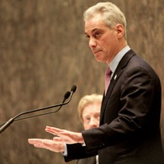 Mayor Emanuel might be halting some things, but he's thumbs-up on a Lincoln Elementary expansion.