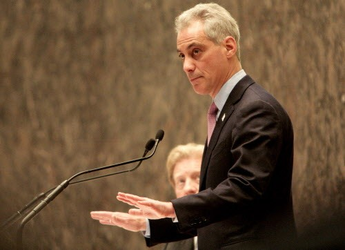 Mayor Emanuel might be halting some things, but hes thumbs-up on a Lincoln Elementary expansion.