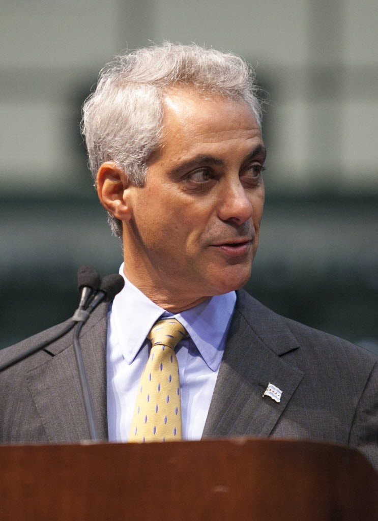 Mayor Emanuel speaks at Chicago State University in late July, at a forum on urban violence