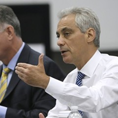 Mayor Rahm Emanuel and police chief Garry McCarthy are sticking to their script on police staffing: we're all good.
