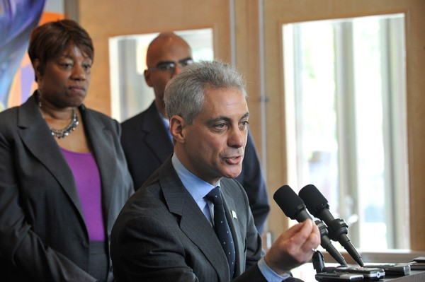 Mayor Rahm Emanuel is moving swiftly to build an arena and hotels in the South Loop, and Alderman Pat Dowell supports the plan.